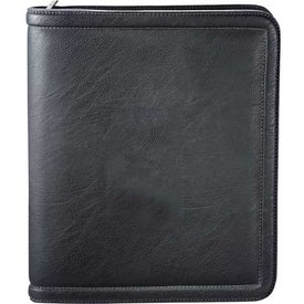 Kenneth Cole Borders Zippered Padfolio for Your Company