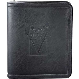 Kenneth Cole Borders Zippered Padfolio