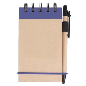 Company Kraft Jotter with Pen