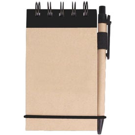 Kraft Jotter with Pen (75 Sheets)