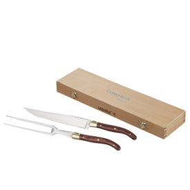 Laguiole 2-piece Carving Set for Customization