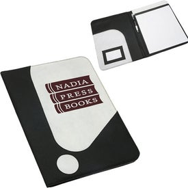 Large Interjection Padfolio with Your Logo