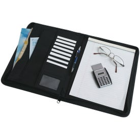 Large Microfiber Portfolio with Your Logo