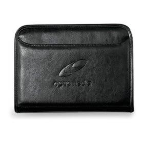Leather Junior Calculator Padfolio