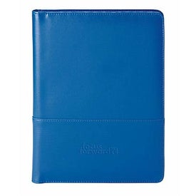 Imprinted Leather Padfolio - Colorplay