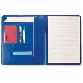 Branded Leather Padfolio - Colorplay