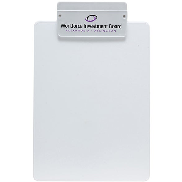 White Letter Size Clipboard