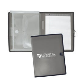 Customizable Letter Size Pad Portfolio for Your Organization