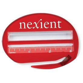 Logo Letter Slitter Ruler Magnifier
