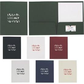 Linen Paper Folder