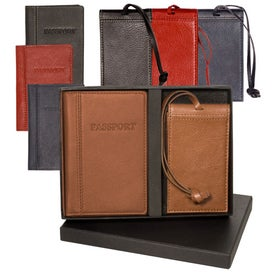Lloyd Harbor Passport and Magnetic Luggage Tag Set for Your Church
