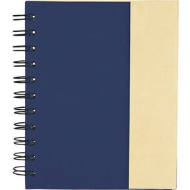 Lock-it Mini Spiral Notebook for Your Organization