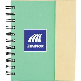 Lock-it Mini Spiral Notebook with Your Logo