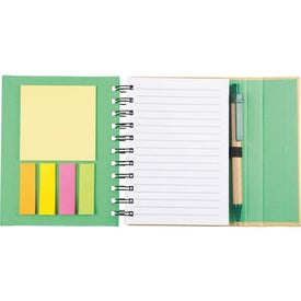 Personalized Lock-it Mini Spiral Notebook