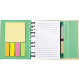 Personalized Lock-it Mini Spiral Notebook