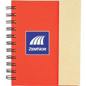 Imprinted Lock-it Mini Spiral Notebook
