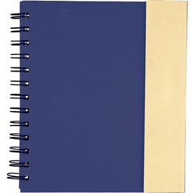 Imprinted Lock-it Spiral Notebook