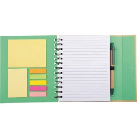 Lock-it Spiral Notebook for Advertising