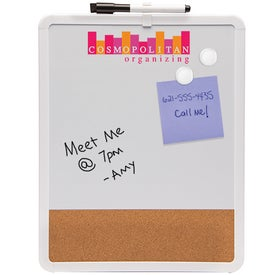 Magnetic Dry Erase and Cork Board