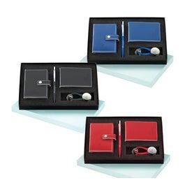 Magnolia Pen, Card Holder, Jotter, and Keyring Set