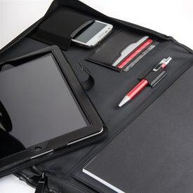 Personalized Manchester Portfolio with iPad Case