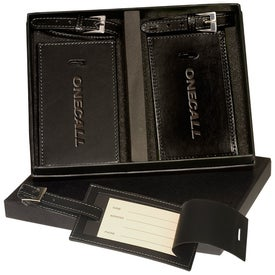 Marquis Two Luggage Tag Set Printed with Your Logo