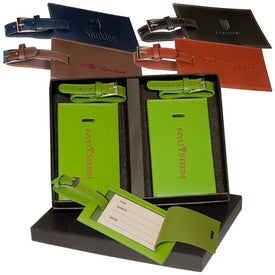 Advertising Marquis Two Luggage Tag Set