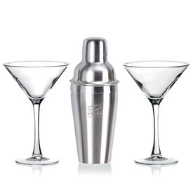 Martini Gift Set in White Gift Box