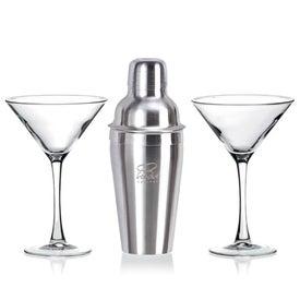 Martini Gift Set in White Gift Box