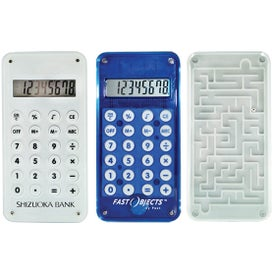 Maze Calculator with Your Slogan