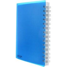Personalized Medium Spiral Curve Notebook