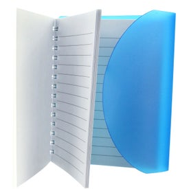 Medium Spiral Curve Notebook with Your Logo