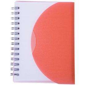 Customized Medium Spiral Curve Notebook