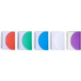 Medium Spiral Curve Notebook for Customization
