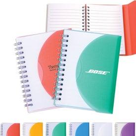 Medium Spiral Curve Notebook