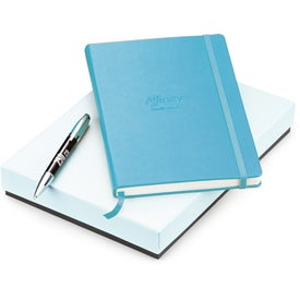 Personalized Melody 2-Tone Ballpoint and Journal Set - Whimsical
