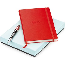 Melody 2-Tone Ballpoint and Journal Set - Whimsical for your School