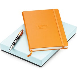 Company Melody 2-Tone Ballpoint and Journal Set - Whimsical