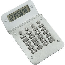 Metallic Calculator for Marketing