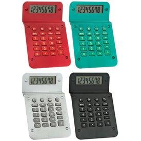 Metallic Calculator with Your Logo
