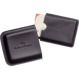 Metropolitan Business Card Holder with Your Slogan