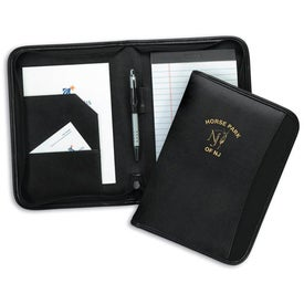MetroTek Jr. Zippered Padfolio