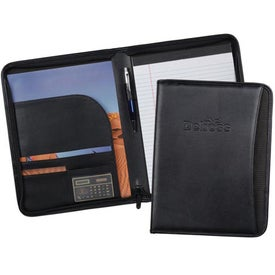 MetroTek Zippered Padfolio