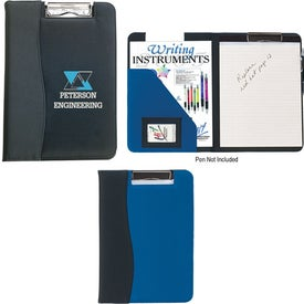 Microfiber Clip Board with PVC Trim
