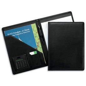 Advertising Milan Pad Holder with Calculator