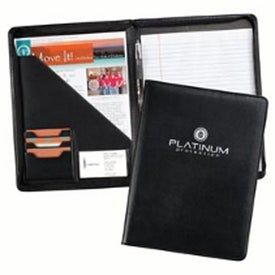 Milan Zippered Pad Folders