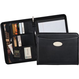 Milan Zippered Padfolio