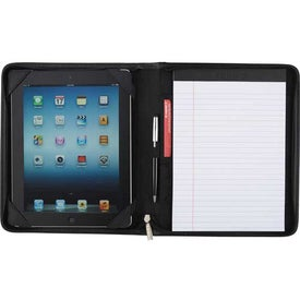 Millennium Leather eTech Writing Pad for Your Company