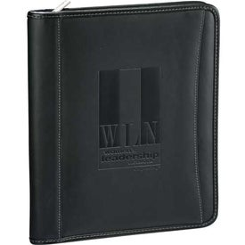 Millennium Leather eTech Writing Pad with Your Logo
