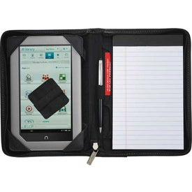 Logo Millennium Leather Jr. eTech Padfolio
